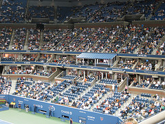 Event Day At Arthur Ashe Stadium.