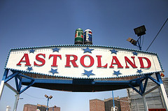 Astroland Was amusement Park In Coney Island First Opened In 1962.