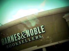 Crooked Picture Of An Unknown Barnes & Noble Location, Possibly In New York City