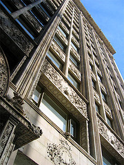 Exterior Architectural Detail Of The Bayard-condict Building