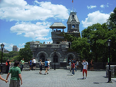 What A Sunny And Pleasant Day To Check Out Belvedere Castle.