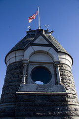 Belvedere Castle Features A Weather Station In Central Park, New York City.