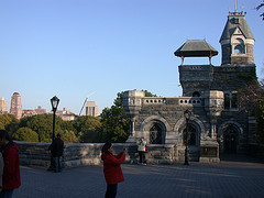 Belvedere Castle Sits Upon Vista Rock, The Second Highest Natural Elevation in Central Park, New York City