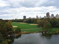 The City, The Park And Everything In The Middle Here At Belvedere Castle.