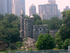 A Perfect Day To Look At The Beautiful Belvedere Castle.
