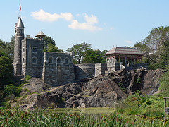 Inside Belvedere Castle In Central Park Are Nature Displays, Many Dealing With The Inhabitants Of The Park.