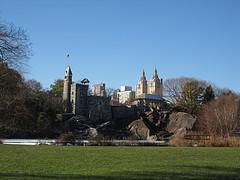 Belvedere Castle Sits Upon Vista Rock, The Second Highest Natural Elevation In Central Park