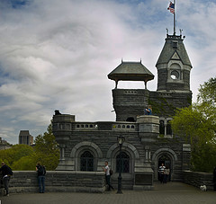 Belvedere Castle Is Found In New York City's Famous Central Park.