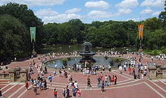 Nice Place For People Watching: Bethesda Terrace In Central Park New York