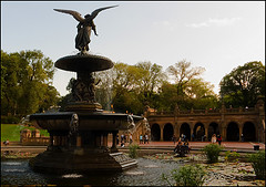 A Great Place To Relax And Have Some Peace Here At The Bethesda Terrace.
