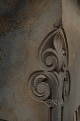 Fine Carvings Here At Bethesda Terrace.
