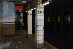 The Platform At The Bleecker Street Station, Served By The 6 Train.