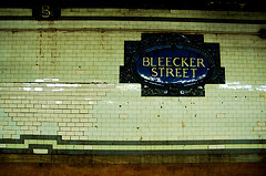 Bleecker Street Is Sure To Be Buzzing On Weekends When People Are Racing To The Night Clubs From Manhattan.