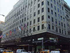 Two-Point Perspective Image Of The Notorious Bloomingdales Store