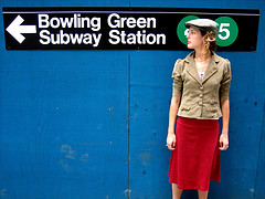 Here Is The Way To Bowling Green Subway Station which Is A Public Park