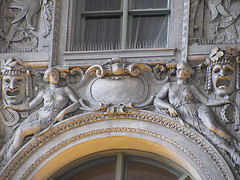 Details On Window Arch of Lunt-Fontanne Theatre