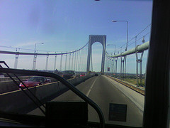 A Nice Day To Drive Over And Enjoy The Bronx-Whitestone Bridge.