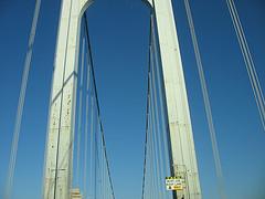 The Bronx-Whitestone Bridge is A Suspension Bridge In New York City