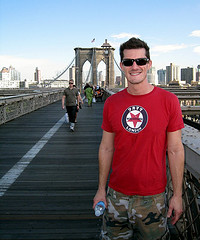 Pose For A Picture And Then Take The Long Walk Across The Brooklyn Bridge.