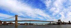 A Beautiful Location Was Captured At Brooklyn Bridge