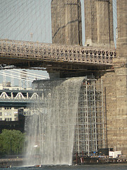 The Brooklyn Bridge Is One Of The Oldest Suspension Bridges In The Us.