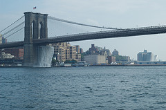The Brooklyn Bridge Is One Of The Nations Oldest Suspension Bridges And Stretches 5,989 Feet Long.
