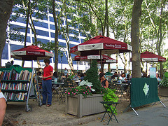 Bryant Park Is A Nice Central Gathering Spot