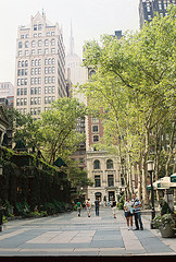 Many Visitors Will Enjoy A Beautiful Day At Bryant Park.