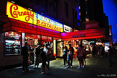 The Always Crowded, Famous Carnegie Deli.