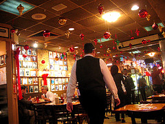 The Carnegie Deli Is A Famous Eatery That Is Known For Their Delicious Cheesecake.