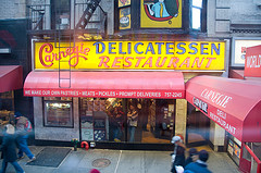 Get A Great Sandwich At A Great Place Here At Carnegie Deli.