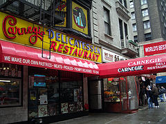 Carnegie Deli Is A Great Place To Enjoy A New York Sandwich.