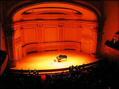 View Of The Scene At The World Famous Carnegie Hall