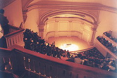 No Of Audience Present In Carnegie Hall