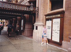 Great Photo Opportunity From Carnegie Hall.