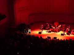 A Band Performs Live At Carnegie Hall