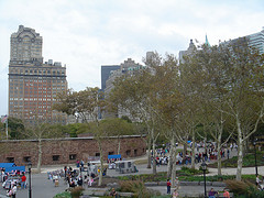 Tourists At Castle Clinton, Also Known As Fort Clinton, Located In Battery Park.