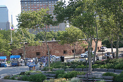 A Sandstone Fort In Battery Park Manhattan Known As The Castle Clinton