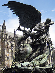 The Peace Fountain At The Cathedral Of Saint John The Divine In Upper Manhattan