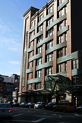 Photo Showing The Exterior Of The Chelsea Market New York City
