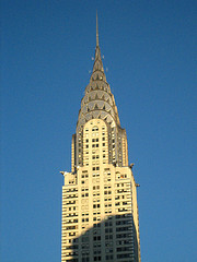 The Sun The Sets On The Chrysler Building This Day.