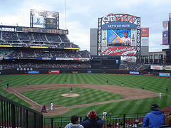 The Mets Play Against the Red Sox At Citi Field