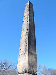 Cleopatra's Needle In Central Park Celebrates Ancient Egypt