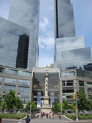 A Great Place To Take In The City And Views Is Columbus Circle.