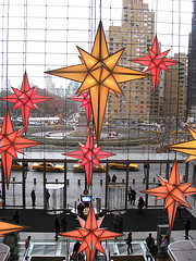 Columbus Circle  Is A Major Landmark And Point Of Attraction