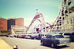 The Most Famous Attraction In All Of Coney Island And One Of The Most Famous Roller Coasters In The World