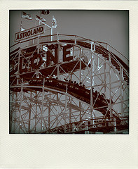 The Wooden Coney Island Cyclone.