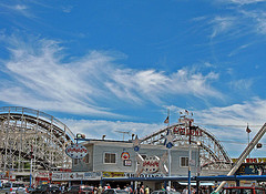 The Coney Island Cyclone, July 2, 1988 Was Declared A New York City Landmark.