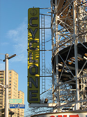 The Coney Island Cyclone Is One Of The Most Exciting Roller coasters.