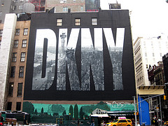 A Large Advertisement Of Danny In New York.
